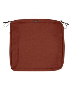 Montlake FadeSafe Water-Resistant Rectangle Patio Dining Seat Cushion Cover